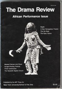 - The drama Review T92  African Performance Issue