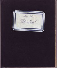 MARTANO, GIULIANO - Man Ray Clin d'oeil