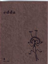 LACOMBLEZ, JACQUES - edda N° 1 Eté 1958 Cahier international de documentation sur la poésie d'avant-garde