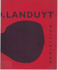 LANGUY, EMILE - Octave Landuyt Exhibition Recent Painting