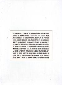 - 'L'architecte est absent' een tentoonstelling met werken uit de verzameling van Annick en Anton Herbert