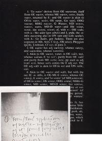 KOSUTH, JOSEPH - Joseph Kosuth Notebook on Water 1965-66