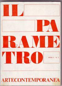 - il parametro arte contemporanea anno I - N. 2