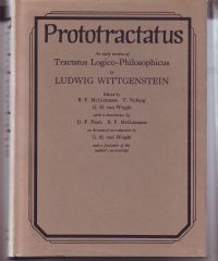 WITTGENSTEIN, LUDWIG - Prototractatus An early version of Tractatus Logico-Philosophicus by Ludwig Wittgenstein