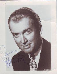 - James Stewart original signed photograph