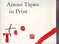 WYE, DEBORAH - Antoni Tàpies in Print
