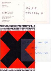 WASTIJN, KOEN / DESCHUYPER, JOHAN - Wastijn & Deschuymer set of 16 invitation cards
