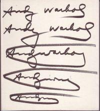 WÜNSCHE, HEMANN - Andy Warhol Das Graphische Werk 1962-1980
