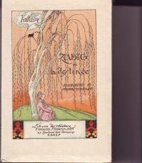 VOLTAIRE - Zadig ou la destinée Histoire orientale Nobreuses illustrations en couleurs par Gustave-Adolphe Mossa